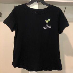 Women's margarita T-shirt size large